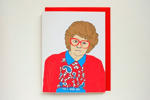 Lorraine greeting card madtv mad tv youre cute bookmarktalkfo Images