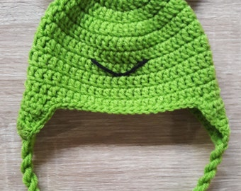 Crochet Hat Froggy