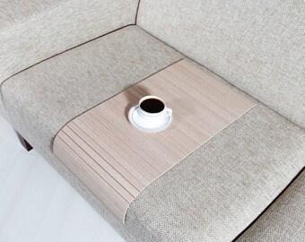 Sofa Arm Tray, Sofa Tray Table, Coffee Table, Sofa Table, Wood Tray, Sofa Arm Table, Gift, Home&Living, BMES3060FF