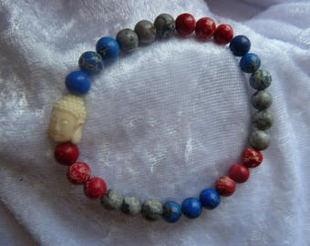 Genuine Jasper GEMSTONE bracelet