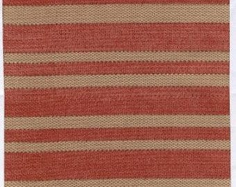 Red Ticking by Tim Holtz for Eclectic Elements, 1-1/4 yard piece, End of the bolt, PWTH006.RedXX