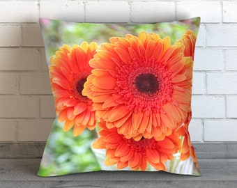 Daisy Pillow, Daisy Pillow Cover, Daisy Throw Pillow, Daisy Decor, Daisy Picture, Daisy Photo, Flower Print, Daisy Cushion, Daisy Bedding