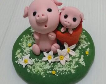 Handmade Cute Piglets