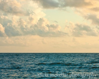 Oversized Large Ocean Photograph, Ocean and Clouds, 30x40, 30x45, 40x60 Original Fine Art Photograph by Tricia McKellar