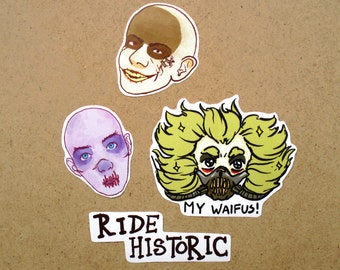 Mad Max: Fury Road Stickers