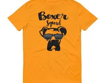 Boxer Squad, Boxer Dog Shirt, Boxer Dog T-Shirt, Boxer Dog Gifts, Boxer Dog Tee Shirt, Love Boxer Shirt