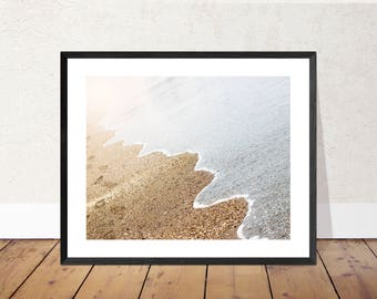 Water's Edge | Beach Photography Color Print | 11x14, 8x10 or 4x6 (Custom Sizes Available Upon Request)