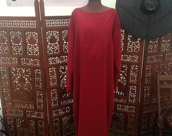 Pre-made Red Viking Tunic - Large