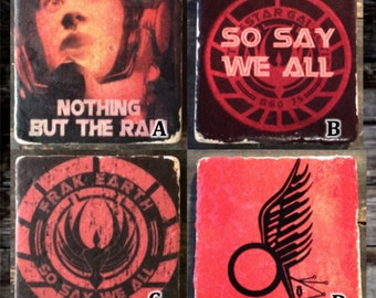 BSG Mix and Match Tile Coaster or Decor Accent