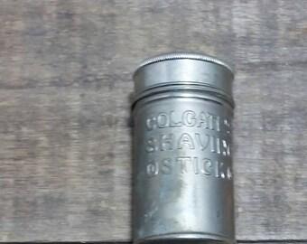 Vintage Advertising Colgate & Co. SHAVING STICK Tin Box