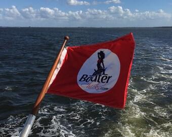 BoaterChicks Custom Boat Flag