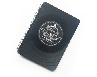 Vinyl Notebook | A5 | Record Notepad | Lined Jotter | Philips