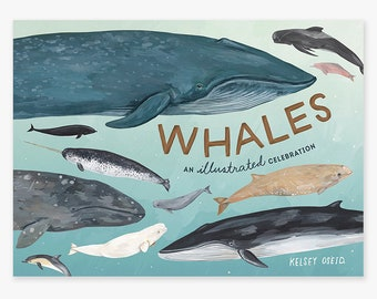 "PREORDER ""Whales: An Illustrated Celebration"" personalized signed copy"