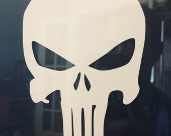 Punisher Skull Decal