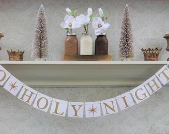 CHRISTMAS DECORATIONS, Christmas CARD Photos, O Holy Night signs, Christmas Card Sign