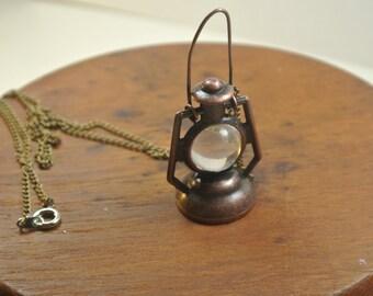 Miniature Lantern Necklace