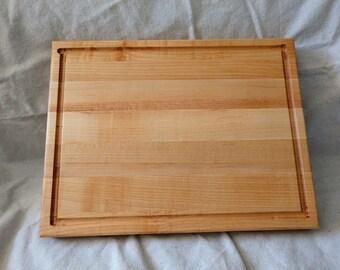 Handmade Maple Butcher Block Meat Cutting Board