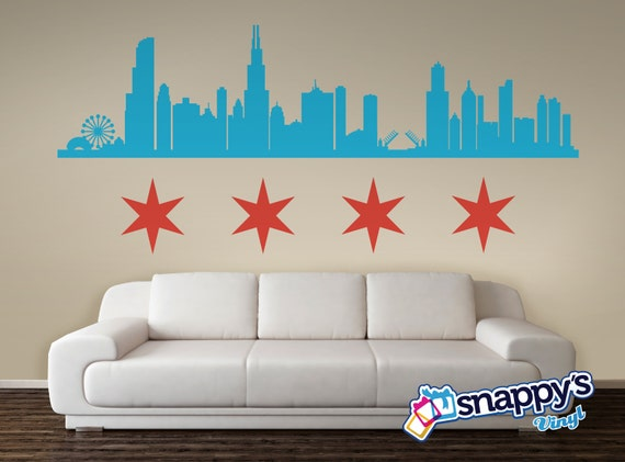 Like this item? & Chicago Landmarks Skyline Wall Decal Custom Wall Decal Wall