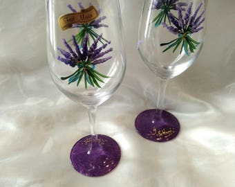 DUO PAINTED GLASSES