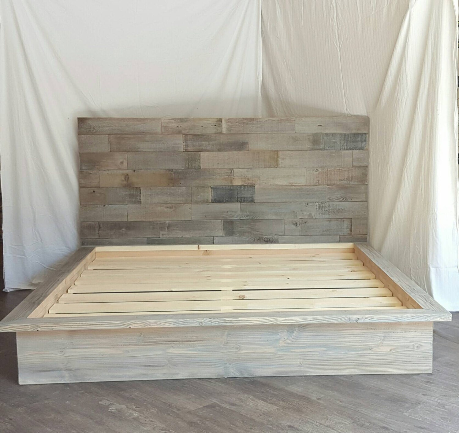 molding dsc decorating new large headboard to size look queen fit design of bed layered it wanted top cut plywood sheet a sides different purchased create weathered the on and diy tda wood i