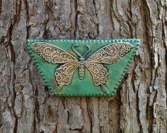 Mothers Day Gift, Butterfly Garden Art Gift for Her, Outdoor Wall Art, Butterfly Decor, Stone Sculpture, Original Butterfly Wall Plaque