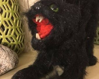 Halloween Scary Cat Decoration
