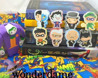 Batman Inspired Bookmarks