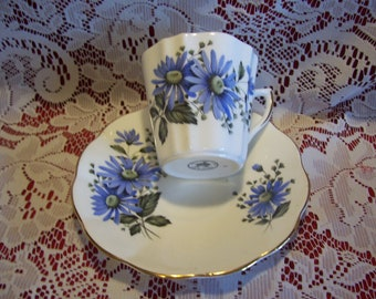 Royal Dover Bone China Cup and Saucer, Made in England