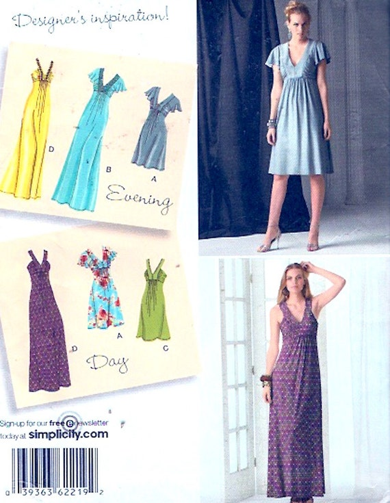 Mother of the bride Evening wear dress Sewing pattern