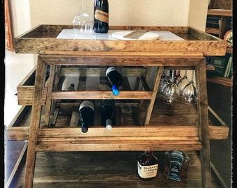 Custom Indoor Bar Cart