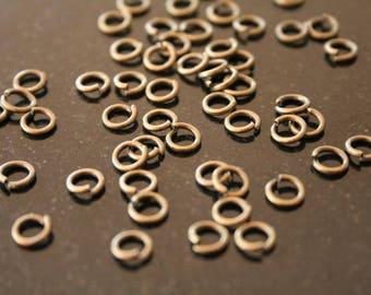 300 metal rings. (ref:1039).