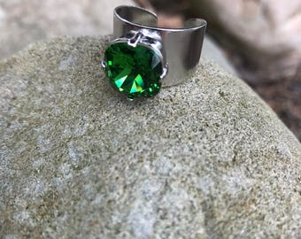 12mm swarovski ring
