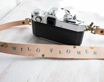 Kameragurt, Blumen, Sonnenblume Kameragurt, wilde Blume für Frauen