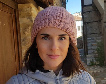 women's winter hat, hand knit hat, womens hat, gift for her, warm hat, gift for women, Women's Accessories, knit hat, gifts for her