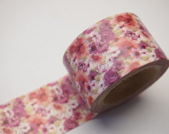Flower Washi Tape (30mm X 10M)