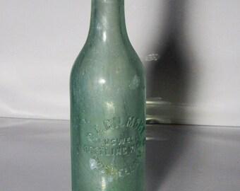 G.G. Gilmore Bottling Works Crown Top soda bottle