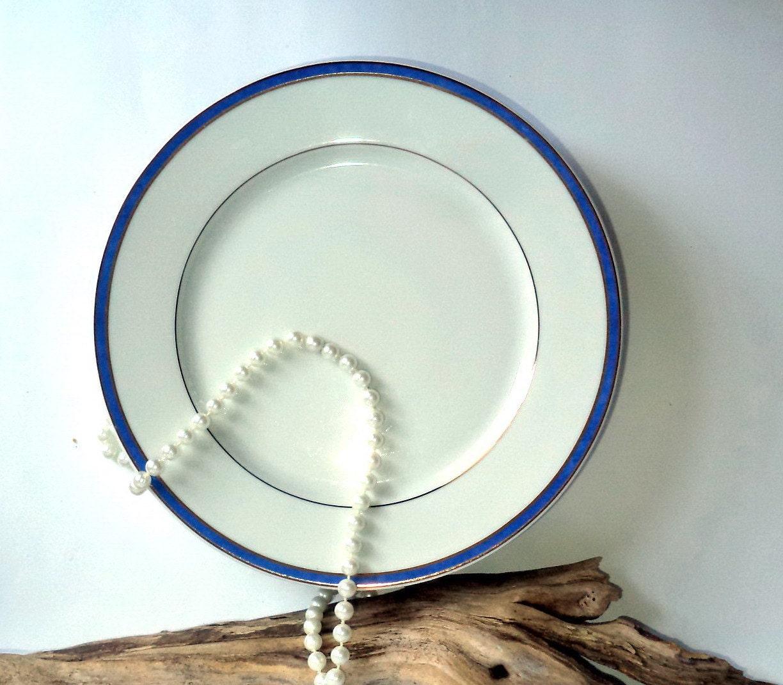 ?zoom & LOT of 5 Vintage Christofle Dinner Plates Christofle