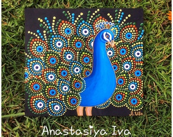 Painting Peacock
