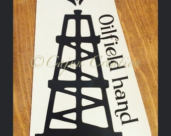 Oil Rig Decal Etsy