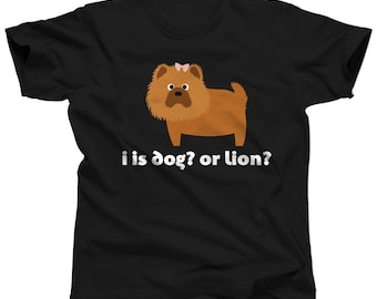 Chow Chow Dog Shirt 5X - I Is Dog Or Lion - Dog Products - Dog Themed Gifts - Dog Clothes for Women - Dog Gear - Dog Tshirts for People