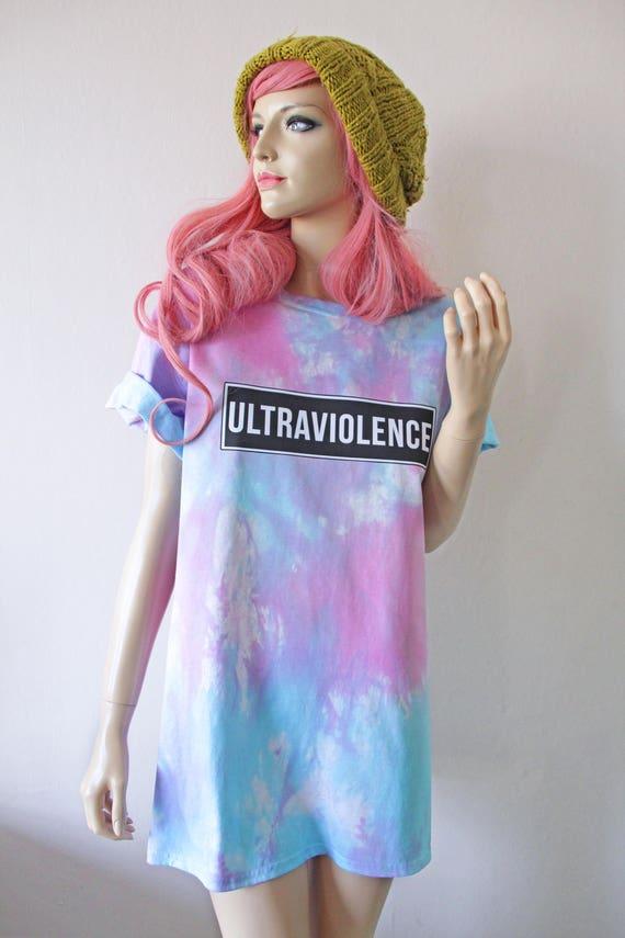 Ultraviolence Tie Dye T-Shirt hipster tumblr cute gift Lana Del Rey pastel goth grunge babygirl