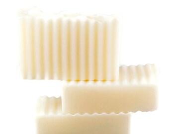 Coconut Oil Soap, All Natural Soap, Unscented Soap, 100% Coconut Soap, Fragrance Free Soap, Vegan Soap, Wonderland Bath