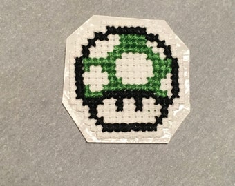 Mario Mushroom Iron-On Patch