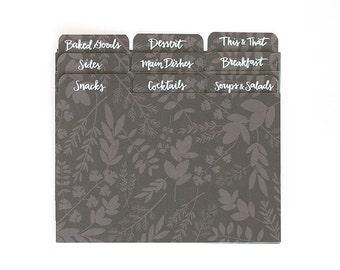 Herb Recipe Divider Tabs//1canoe2