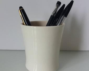 Pottery Tumbler, Office Pen Holder, ceramic tumbler, pen holder, ceramic cup, water tumbler, juice cup, pottery cup, water cup, pencil cup