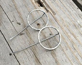 Sterling Silver Earrings Handmade Wild Prairie Silver Jewelry
