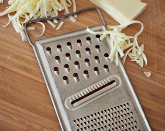 Vintage metal cheese grater, Kitchen utensils, Housewarming gift, Vintage decor, Cook gift, Kitchen retro, Shabby chic, Christmas gift