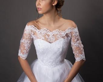 Bridal Lace Bolero - Bestselling Model