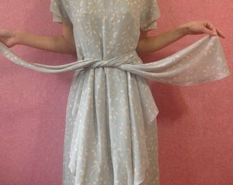 Vintage chiffon dress