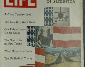 BTS Life Magazine, January  8, 1971 ,The New, Shape of America